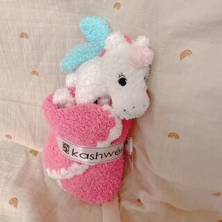 カシウエア(kashwere)のkashwere animal mini blanket(おくるみ/ブランケット)