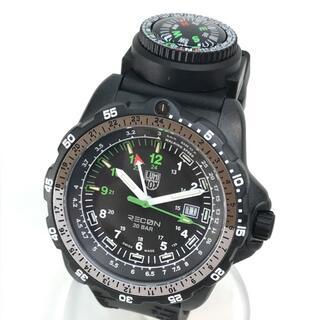 ルミノックス(Luminox)の美品 ルミノックス 8831.KM 8830 リーコンナビ メンズ腕時計(腕時計(アナログ))