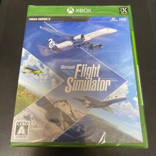 マイクロソフト(Microsoft)の【新品未開封】Microsoft Flight Simulator XSX(家庭用ゲームソフト)