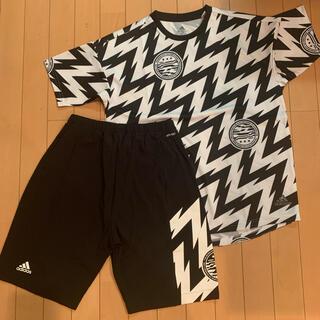 adidas - 美品 アディダス エアロレディ トレーニング Tシャツ パンツセット 160