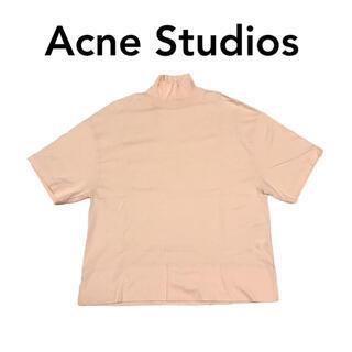 ACNE - アクネ ストゥディオズ Acne Studios 半袖Tシャツ タートルネック