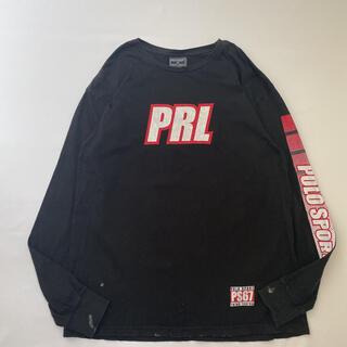 ポロラルフローレン(POLO RALPH LAUREN)の90s 古着 polosport ポロスポーツ 袖ロゴ ロンT 長袖tシャツ (Tシャツ/カットソー(七分/長袖))