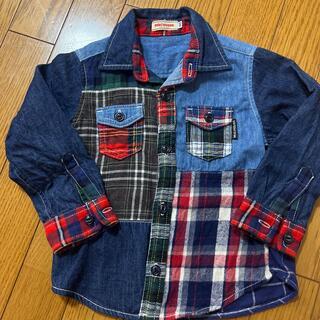 ミキハウス(mikihouse)のシャツ(ブラウス)