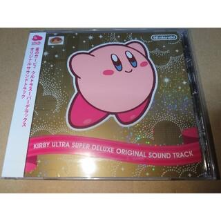 ニンテンドウ(任天堂)のクラブニンテンドー 星のカービィウルトラスーパーデラックス 非売品CD(ゲーム音楽)