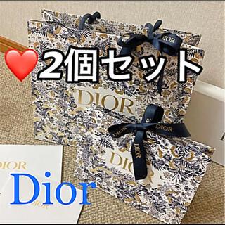 クリスチャンディオール(Christian Dior)の❤️ディオール ホリデー限定 プレゼント用ラッピング ショッパー ギフトボックス(ラッピング/包装)