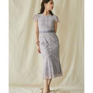 ラグナムーン(LagunaMoon)のラグナムーン ワンピース ドレス(ミディアムドレス)