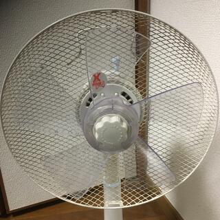 山善 - 送料込 扇風機 YAMAZEN YLT-C30 ホワイトブルー 切タイマー有
