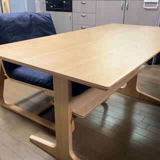 MUJI (無印良品) - 無印良品 テーブル ソファチェアセット