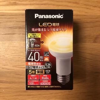 パナソニック(Panasonic)のPanasonic LED電球レフ電球タイプ LDR4LWRF4 (蛍光灯/電球)