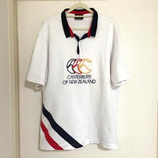 CANTERBURY - カンタベリー メンズ 半袖 ポロシャツ 3L ラグビー