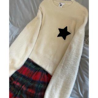 ダブルスタンダードクロージング(DOUBLE STANDARD CLOTHING)の1度のみ着用極美品ダブルスタンダードクロージング トップス サイズ38(ニット/セーター)