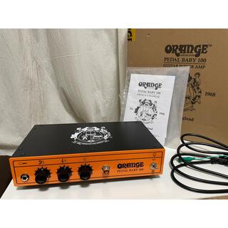 ORANGE (オレンジ) Pedal Baby 100 パワーアンプ(ギターアンプ)