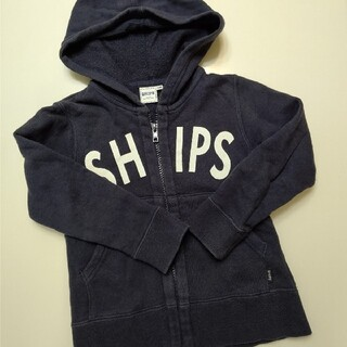 シップスキッズ(SHIPS KIDS)のSHIPS KIDS シップス キッズ 100 ロゴ パーカー トレーナー(ジャケット/上着)