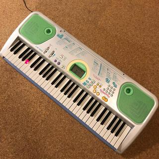 カシオ(CASIO)の光ナビ 電子キーボード CASIO LK102 カシオ 電子ピアノ HIKARI(キーボード/シンセサイザー)