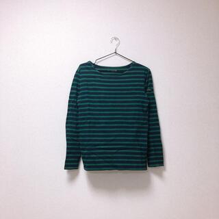 サマンサモスモス(SM2)のボーダーTシャツ(Tシャツ(長袖/七分))