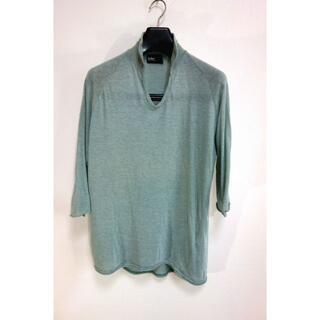 カラー(kolor)の【良品】kolor 5分丈Tシャツ カラー(Tシャツ/カットソー(半袖/袖なし))