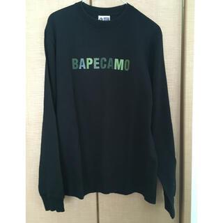 アベイシングエイプ(A BATHING APE)のA BATHING APE ロングTシャツ(Tシャツ/カットソー(七分/長袖))