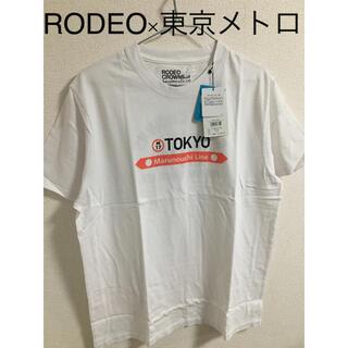 ロデオクラウンズワイドボウル(RODEO CROWNS WIDE BOWL)のRODEO CROWNS WIDE BOWL × 東京メトロ コラボTシャツ(Tシャツ/カットソー(半袖/袖なし))