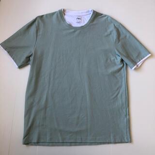 ZARA - ZARA レイヤードTシャツ Lサイズ