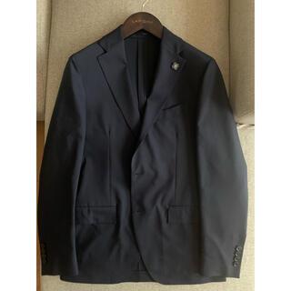ビームス(BEAMS)の新品未使用 LARDINI ラルディーニ ストレッチ スーツ 48 ネイビー(セットアップ)