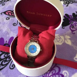 STAR JEWELRY - レア★スタージュエリー ★2019年クリスマス限定★スティール腕時計