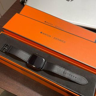 Hermes - HERMES Apple watch sereis6 44mm black