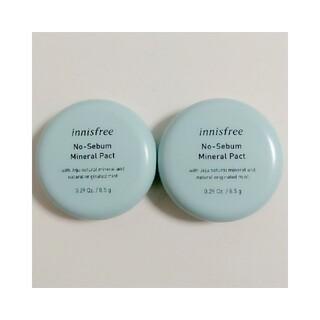 Innisfree - 【2個セット】イニスフリー ミネラルパクト 8.5g