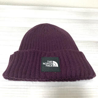 THE NORTH FACE - THE NORTH FACE スクエアロゴ ニットキャップ ニット帽