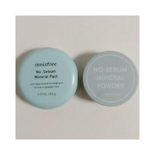 Innisfree - 【2個セット】ミネラルパクト 8.5g&ミネラル パウダー5g