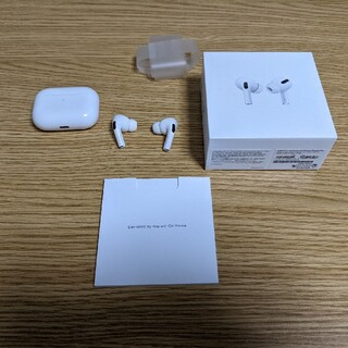 アップル(Apple)の値下げairpods pro中古(ヘッドフォン/イヤフォン)