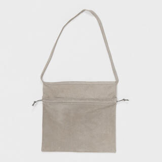 Hender Scheme - Hender Scheme red cross bag big (ライトグレー)