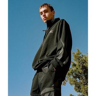 リーボック(Reebok)のリーボック Mサイズ キムタク ドラマ着用 ジャージ上着 スウェット 黒(ジャージ)