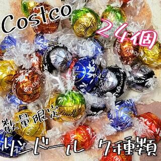コストコ(コストコ)のコストコ リンツ リンドール チョコレート 24個(菓子/デザート)