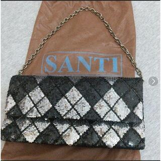 サンティ(SANTI)のsanti  サンティ クラッチバッグ スパンコール(クラッチバッグ)
