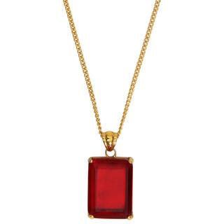 ジョンローレンスサリバン(JOHN LAWRENCE SULLIVAN)のernest w.baker red stone necklace ネックレス(ネックレス)