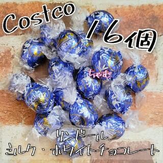 コストコ(コストコ)のコストコ リンツ リンドール チョコレート ミルクホワイト16個(菓子/デザート)