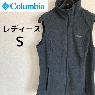 コロンビア(Columbia)のColumbia コロンビア ノースリーブフリースジャケット レディース S(ベスト/ジレ)