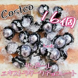 コストコ(コストコ)のコストコ リンツ リンドール チョコレート エキストラダーク 16個(菓子/デザート)