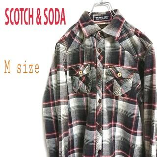 スコッチアンドソーダ(SCOTCH & SODA)のScotch & Soda スコッチ & ソーダ 長袖 チェックシャツ 柄シャツ(シャツ)