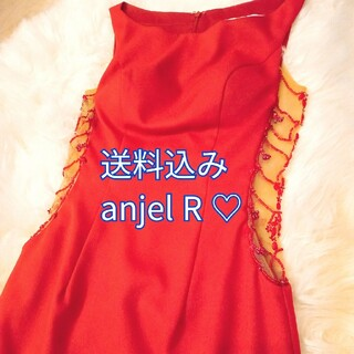 AngelR - エンジェルアール ドレス 赤 ボルドー ミニワンピース