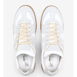 Maison Martin Margiela - マルジェラ Replica calfskin sneakers 37 美品