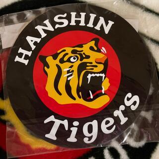 ハンシンタイガース(阪神タイガース)の阪神タイガース マグネットカーワッペン 2枚入り(応援グッズ)