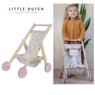 コドモビームス(こども ビームス)の▼  Little Dutch リトルダッチ ▼人形用ベビーカー ドールバギー(その他)