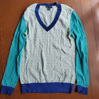 トミーヒルフィガー(TOMMY HILFIGER)のトミーヒルフィガー ニット セーター トップス 海外 ブランド(ニット/セーター)