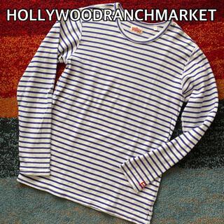 HOLLYWOOD RANCH MARKET - HOLLYWOOD RANCH MARKET ストレッチフライス クルーネック