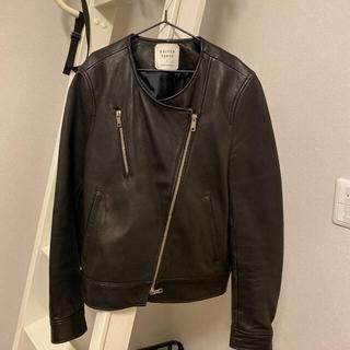 ユナイテッドアローズ(UNITED ARROWS)のユナイテッドトウキョウ 羊皮レザージャケット サイズ1(ライダースジャケット)