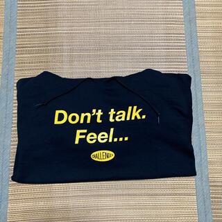 エフティーシー(FTC)のCHALLENGER Don't talk Feel パーカー FTC end(パーカー)