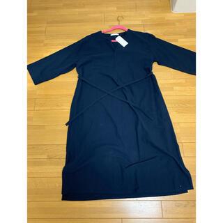 ショコラフィネローブ(chocol raffine robe)の新品 ネイビーワンピース(ひざ丈ワンピース)