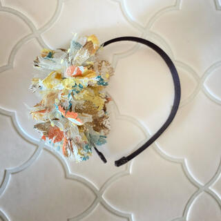カシラ(CA4LA)のCA4LA☆チュールのお花が可愛いカチューシャ(カチューシャ)
