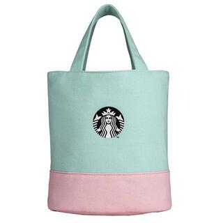 Starbucks Coffee - 1点のみ 台湾 スターバックス 2021 トートバッグ ミントグリーン マカロン
